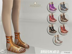 The Sims Resource: Madlen Brugnato Shoes by MJ95 • Sims 4 Downloads
