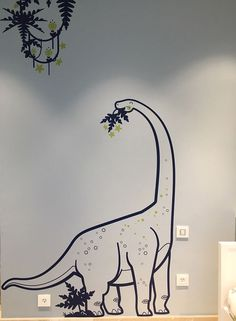 Best Bedroom Wall Decal Design Ideas 37 image is part of 80 Awesome Bedroom Wall Decals Wallpaper Design Ideas to Try gallery, you can read and see another amazing image 80 Awesome Bedroom Wall Decals Wallpaper Design Ideas to Try on website Wall Decals For Bedroom, Kids Room Wall Art, Bedroom Murals, Kids Wall Decals, Wall Stickers Home Decor, Dinosaur Wall Decals, Dinosaur Pics, Dinosaur Bedroom, Murals For Kids