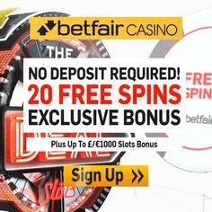 Betfair Casino Promo Code 20 Free Spins & £1000 Casino Bonus - Betfair Promo Codes