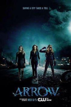 Felicity, Laurel & Sara. #Arrow