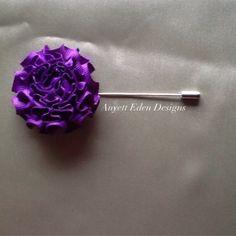 Purple Ribbon Dapper from Anyett  Eden for $25 on Square Market