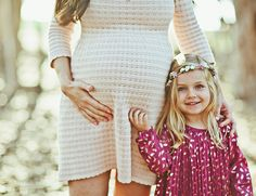 Mother Daughter Maternity Photos - Inspired By This