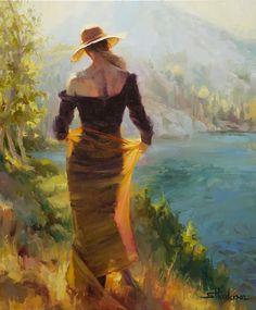 Steve Henderson, 1957 ~ Realism / Impressionist painter