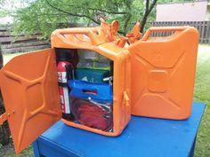 OBI Selbstgemacht! - Alte Benzinkanister recycelt zu Auto-Aufbewahungsb... - Selbstgemacht! Community