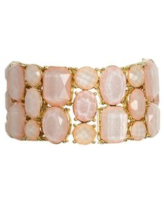Faceted Stretch Bracelet - Jewelry