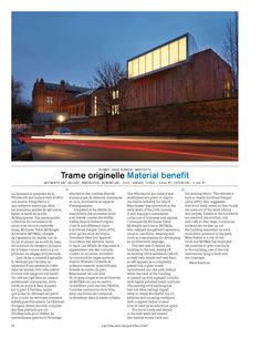 McInnes Usher McKnight Architects   Whitworth Art Gallery, Manchester, Royaume-Uni, 2015.