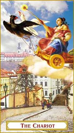 tarot cards The Chariot - Google Search