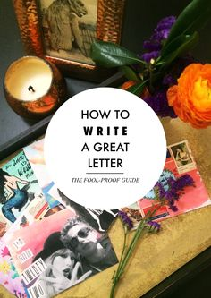 How to write a letter  - great tips for sending cards to friends! Brookhaven House mail art