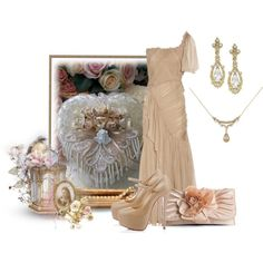"""Vintage Heart"" by mary-rt on Polyvore"