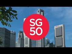 SG50 - Singapore Turns Fifty - Time lapse of the Island's most iconic Landmarks - YouTube Singapore City, Chicago Cubs Logo, Marina Bay, Island, Youtube, Islands, Youtubers, Youtube Movies