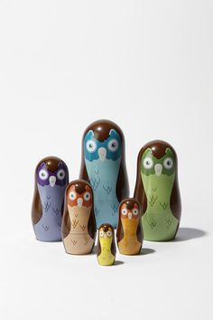 love owls but don't love russian stacking dolls. cute.