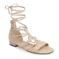 BlackNude Nicole Miller Artelier Cocoa Sandal Women 51117727