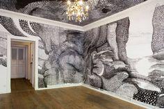 Gallery installation by Elke Graalfs - Crystal Ball Gallery Residency (Berlim, Berlim, Alemanha)