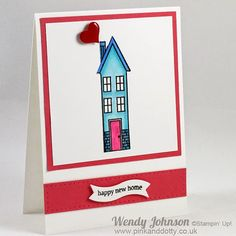 holiday home stampin up | New Home Card using Holiday Home stamp from Stampin' Up!