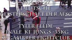 2014-09-27 DM-AFSO Tyler Felde Finale K1 Jungs-33Kg - Sugambrer Fightclub