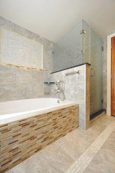 17x17 Italian Tile On The Floor Walk In Shower Custom