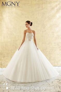 Madeline Gardner  Bridal Gown Noor / 51119, love the top and belt, $1400ish.