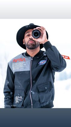 NASA Bomber Jacket - Premium NASA jacket worn by influencers, celebrities and icons. Most notable is Joe Rogan of the Jo - Nasa Bomber Jacket, Green Bomber Jacket, Joe Rogan, The Joe, The Twenties, Looks Great, Windbreaker, Street Wear, Icons