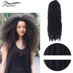 Afro Kinky Twist Braid Dread Lock African Ombre Synthetic Hair Extensions Crochet Braiding Kanekalon Beauty Women Hairpiece Hair