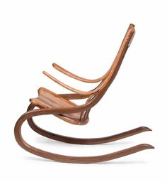 wooden rocking chair design