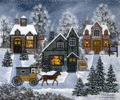 Painting - A Real Snow Job by Jane Wooster Scott