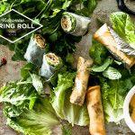 Crispy, deep fried Vietnamese spring roll recipe