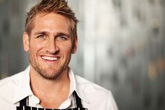 """curtis stone.  talk about """"firing up"""" the kitchen.  woohoo. :)"""