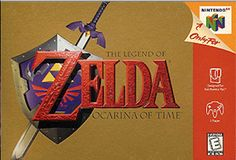 The Legend of Zelda: Ocarina of Time. Often considered one of the best games of all time, in the best series of all time, on one of the most classic consoles of all time. Not my personal favorite, but still great. The Legend Of Zelda, Hack And Slash, Wind Waker, Ocarina Of Time, Ocarina Tabs, Ocarina Music, Playstation, Xbox, Nintendo 64 Games