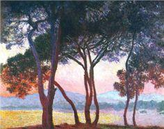Juan Les Pins - Claude Monet