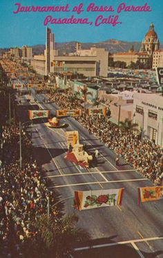 Tournament of Roses Parade, Pasadena CA