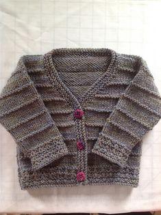 Ravelry: Garter Stitch Baby Cardigan pattern by Marjorie Brigham - *pattern