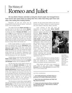 romeo and juliet compare two videos coursework Need to type this two paragraph essay on who i think is the most geography coursework rivers conclusion compare and contrast essay template scholastic essay competition 2014 malaysia winners romeo and juliet fate 5 paragraph essay myself do college essays need a cover page load.