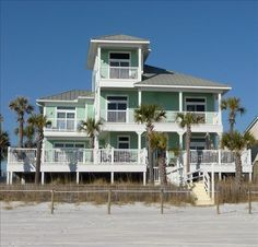 Exquisite Gulf Front Home W Private Heated Vrbo Panama City Beach