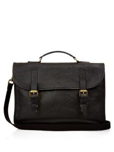MULBERRY Elkington Grained-Leather Briefcase. #mulberry #bags #shoulder bags #hand bags #canvas #leather #lining