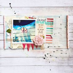 I {lowe} SCRAP :: 'Marine' & 'Summer Dreamer' & 'La maison Rose' :: by Lena
