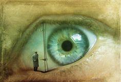 Eye by Kinga Britschgi #surreal #art