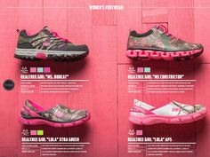 2015 Realtree Girl Camo Shoes