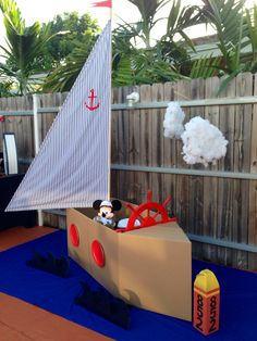Nautical Kids Photo Booth Section @Events by Arlene B.