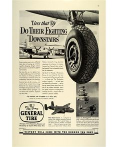 General Tire WWII Advertisement-1942
