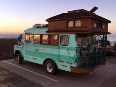 It takes some serious imagination to come up with these homemade campers, just…