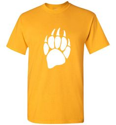 Bear Claw, Gildan Men's Short Sleeve T-Shirt