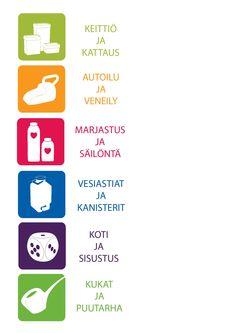 Plastexin tuoteperheiden logot! Made in Finland