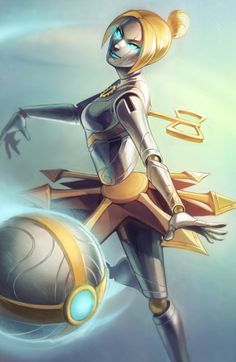 League of Legends Orianna Print