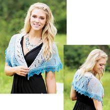 Hamilton Shawl Knit Pattern - Willow Yarns