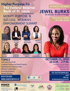Higher Purpose Co. will be co-sponsoring Money, Purpose & Success: Women's Empowerment Summit on Saturday, October 15, 2016 from 10:00AM to 2:00PM at the Coahoma County Higher Education Center in Clarksdale, MS. This interactive summit will focus on starting your nonprofit, validating your business idea, securing investors, and effective leadership. Some of the featured guest speakers will include Sheena Allen, Krystal Beachum, Founder of Student-Athletes Unite. Register today!