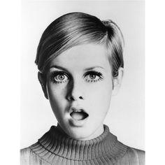 60년대 패션 아이콘, 트위기(Twiggy) ❤ liked on Polyvore featuring backgrounds, people, girls, models and photos