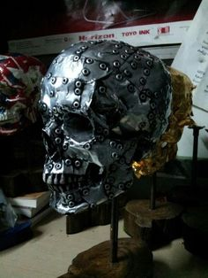 Image result for riveted sculpture