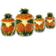 pineapple kitchen decor on napkin holders