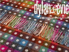 Dylan & Evie Rainbow Collection Multispot Grey (Reverse). £ 90. 140 x 185cm