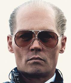 Johnny Depp wears Porsche Design by CARRERA 5623 sunglasses in the movie Black Mass (2015).